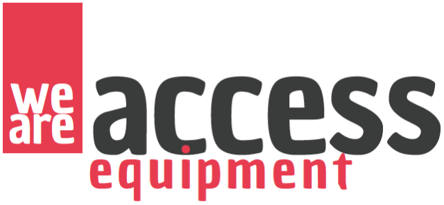 We are access equipment Logo