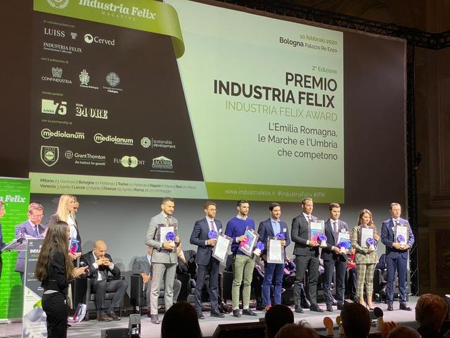 Kaitek Flash Battery premiata con il riconoscimento Industria Felix per il secondo anno consecutivo