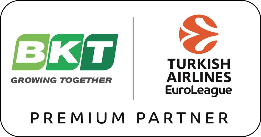 BKT è Premium Partner di Euroleague Basketball