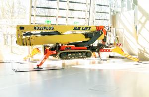 La X33J Plus di JLG a Monaco