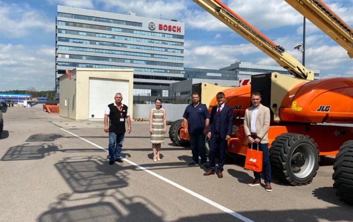 SkyTech è il nuovo distributore JLG per il Circondario federale russo del Volga